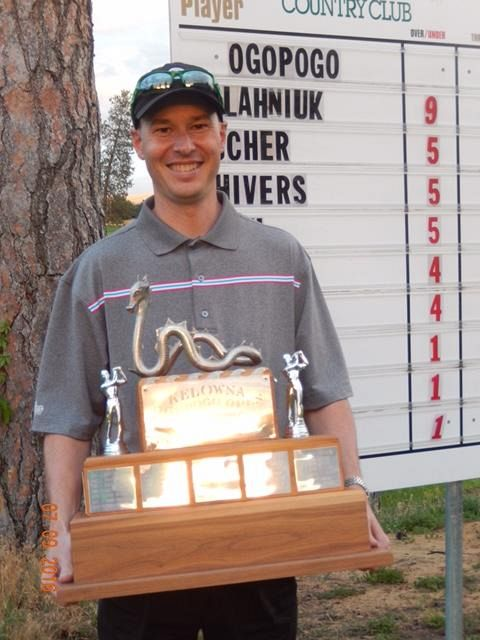 Matt Palahniuk is the 65th Ogopogo Invitational Champion