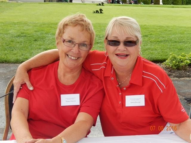 Great Volunteers, Sharon and Wendy THANK YOU!