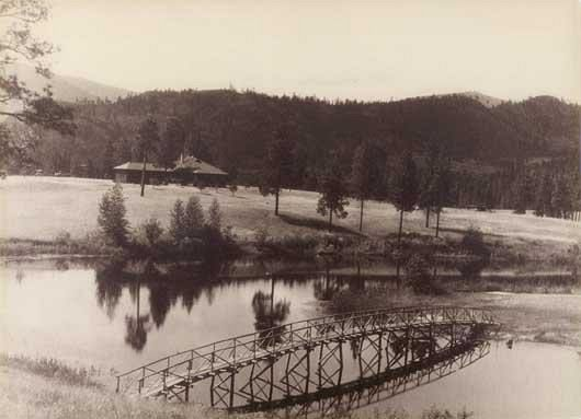The Old Wooden Bridge 1926-1946